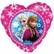 Folieballong - Frost Anna & Elsa Love 45 cm