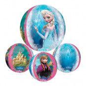 Folieballong Orbz Frost/Frozen