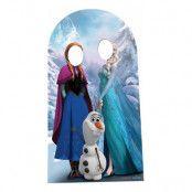 Frost Kartongfigur Foto Prop