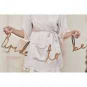 Girlang Bride To Be Guld Metallic