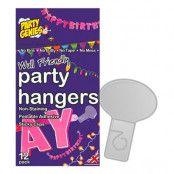 Väggstickers för Girlanger - 12-pack