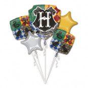 Ballongbukett Harry Potter Foil Balloon - 5-pack