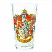 Harry Potter Gryffindor Stort Glas