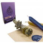 Harry Potter Sigillstämpel Med Vax Hogwarts