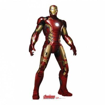 Avengers Iron Man Kartongvägg