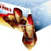 Iron man bordsduk i plast - 1,2 m x 1,8 m
