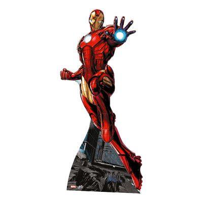 Iron Man Mini Kartongfigur