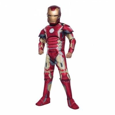 Avengers Iron Man Barn Maskeraddräkt