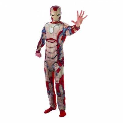 Iron Man 3 Deluxe Maskeraddräkt