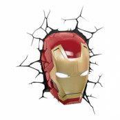 Iron Man Vägglampa