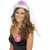 Möhippa tiara Bride To Be - vit
