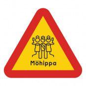 Varningsskylt Möhippa