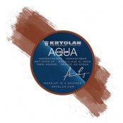 Kryolan Aquacolor Smink - Mellanbrun
