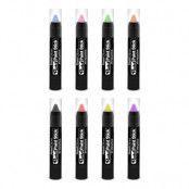 PaintGlow UV Neon Pastell Sminkpenna - Pastellgul