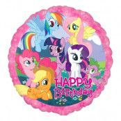Folieballong Happy Birthday My Little Pony