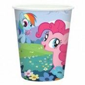 My little Pony - pappersmuggar 266ml - 8 st