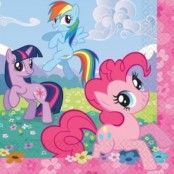 My little Pony pappersservetter - 16 st