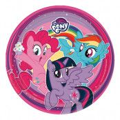 My Little Pony Papperstallrikar - 8-pack