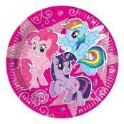 Papperstallrikar My Little Pony Glitter