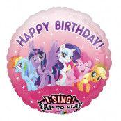 Sjungande Folieballong My Little Pony