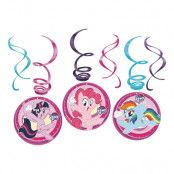 Swirls My Little Pony Hängande Dekoration - 6-pack