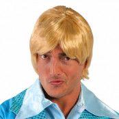 Kort Blond Peruk - One size