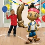 Jake Neverland Pirates Airwalker ballong - 191 cm folie