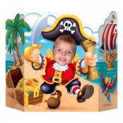 Kartongfigur Pirat Foto Prop