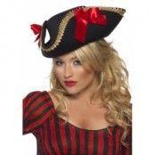 Pirat hatt - svart