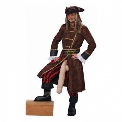 Välhängd Pirat Maskeraddräkt - One size