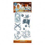 Tatueringar Pirat/Sjörövare