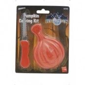 Pumpa Snidning Kit, orange