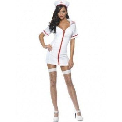 Sexig sjuksköterska maskeraddräkt