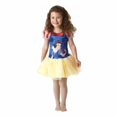 49d00f2ab264 Snövit Ballerina Barn Maskeraddräkt - Small - Halloweenbutiken