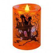 LED-Ljus Halloween Spökhus