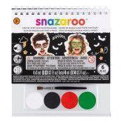 Snazaroo Ansiktsbok Halloween