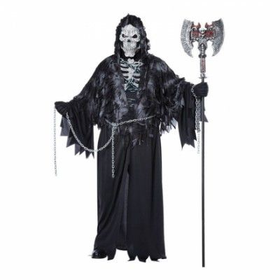 Spöke med Kedjor Plus-size Maskeraddräkt