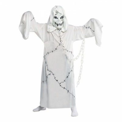 Spökpojke Barn Maskeraddräkt - Small - Halloweenbutiken 4e15c9ba48a68