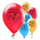 Ballonger Spider-Man Flerfärgade - 25-pack