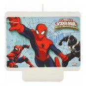 Födelsedagsljus Spider Man
