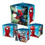 Folieballong Kub Spider-Man