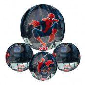 Folieballong Orbz Spider-Man