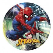 Papperstallrikar Spider-Man - 8-pack