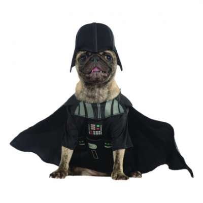 darth vader hund maskeraddr kt one size halloweenbutiken. Black Bedroom Furniture Sets. Home Design Ideas