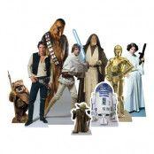 Star Wars Heroes Mini Kartongfigurer