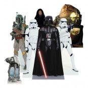 Star Wars Villains Mini Kartongfigurer