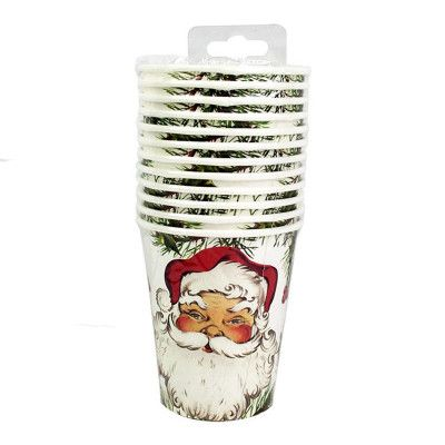 Pappersmuggar Botanical Santa - 12-pack