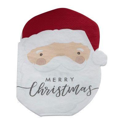 Servetter Merry Christmas Jultomte - 16-pack