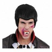 Vampyr Svart Peruk