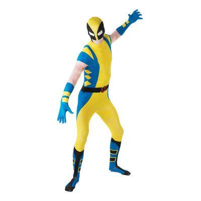 Wolverine Second Skin Maskeraddräkt